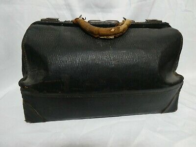 antique leather Doctor's. Leather Bag