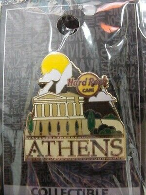Hard Rock Cafe*Athens,Greece*Core Mountains*Pin*Brand New*On Card