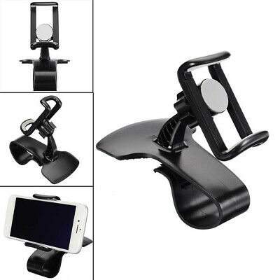 Car Dashboard Mount Holder Stand Universal Cell Phone GPS Hud Clip On Cradle New