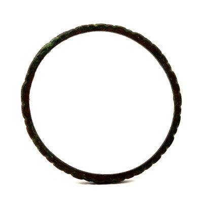An ancient Eastern bronze bracelet