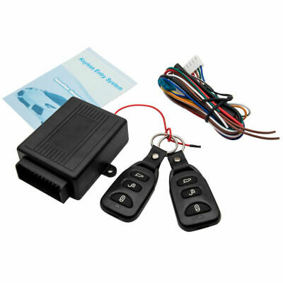 Car Remote Security Control Keyless Entry System Central Door Lock Locking Kit