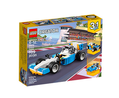 Lego 31072 CREATOR 3 in 1 Extreme Engines Building Toy 109-pcs