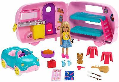 Barbie Club Chelsea Camper Playset With Chelsea Doll