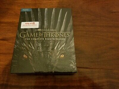 Game of Thrones The Complete 8th Season (Blu-Ray+Digital) *Target Exclusive* NEW