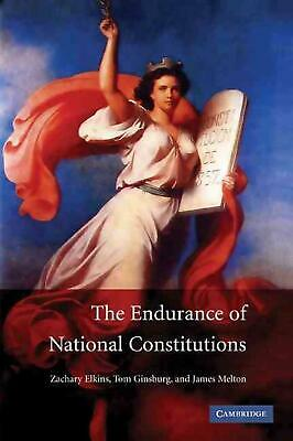 The Endurance of National Constitutions by James Melton (English) Paperback Book