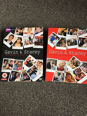 Gavin And Stacey Box Set Dvd Series 1,2,3 And Christmas Special