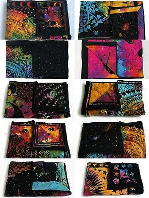 25 Pcs Wholesale Lots Indian Baby Quilt Print Handmade Cotton Kantha Bed Covers