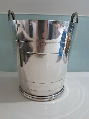 Silver Plated Ice Bucket - Fairfax And Roberts.