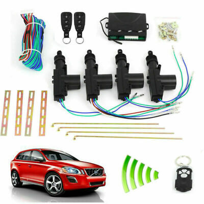 Car Remote Control Central Lock Security System Auto Locking Entry Keyless Kit