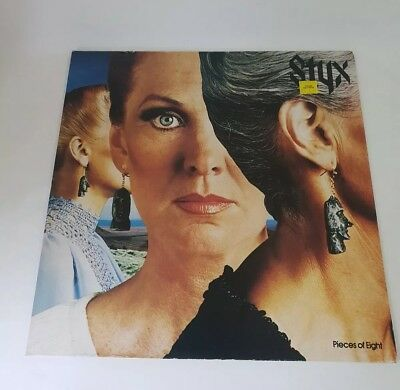 Styx – Pieces Of Eight - UK - 1978 - A&M Records - AMLH 64724 - NM/VG+