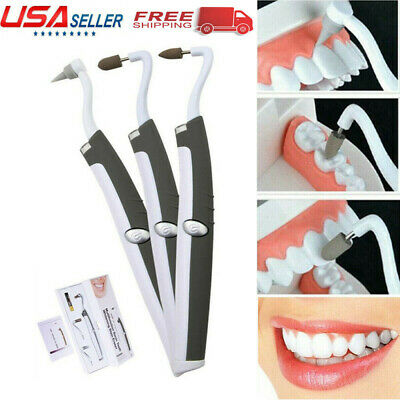 Ultrasonic Electric Tooth Stain Eraser Cleaner Dental Scaler Teeth Whitening USA