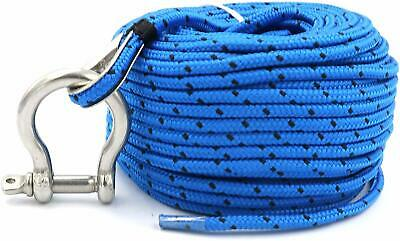Anchor Rope For All Electric Anchor Winches,Saltwater/& Freshwater 800lb Strength