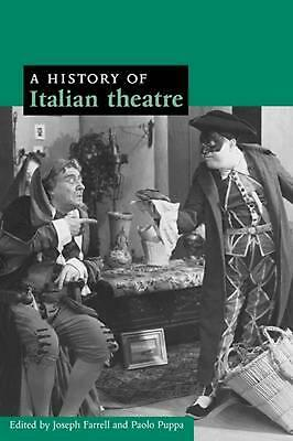 A History of Italian Theatre by D.H. Lawrence (English) Paperback Book Free Ship