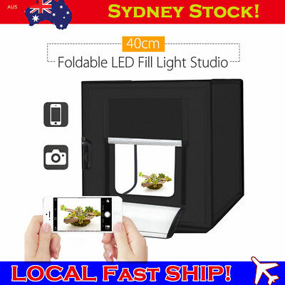 Professional Mini Portable LED 40CM X 40cm Photography Studio Light Box Tent Kit