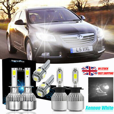Ford Focus MK2 H7 501 100w Super White Xenon Low//LED Trade Side Light Bulbs Set