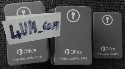 Office 2019 Professional Office 2019 Pro Plus License key E-Deliver Lifetime 365