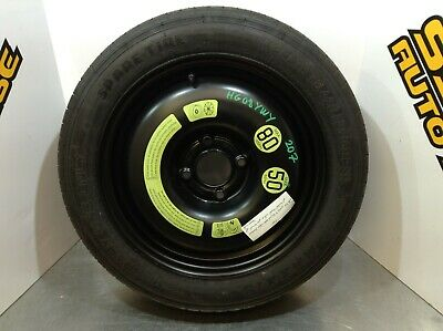 "2008 Peugeot 15"" Space Saver Spare Tyre T125/80R15"