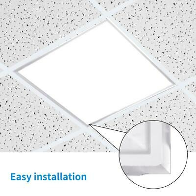 48W White Ceiling Suspended Recessed LED Panel Light 600 X 600 Office Lighting