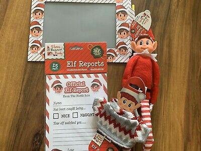 Naughty Elf Elves Behavin Badly On The Shelf & Sweater, Reports , Message Board