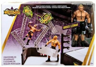 WWE Brock Lesnar Figure - Wrestlemania - Mattel - New Sealed - SHIPPING COMBINES