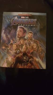 Avengers end game blu ray new free post bargain