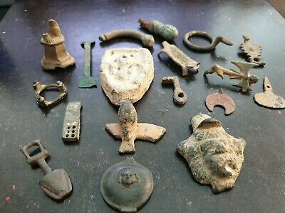 Group of detector finds roman/viking/celtic some nice items