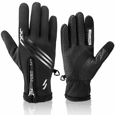 Men Women Winter Warm Glove Windproof Touch Screen Ski Outdoor Cycling Gloves