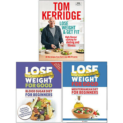Lose Weight & Get Fit,Mediterranean Diet For Beginners 3 Books Collection Set
