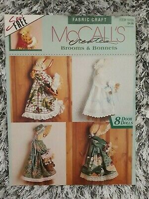 McCalls Fabric Craft Brooms & Bonnets sewing pattern