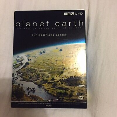 David Attenborough: Planet Earth - The Complete Series DVD (2006)