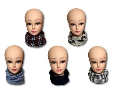 New Kids Children Teenager Boys Cotton Snood Scarf  Neck Scarves 25x45cm
