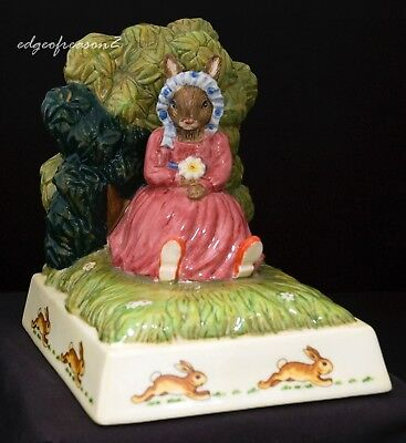 Royal Doulton Bunnkins Summer Dreams Bookend Figurine