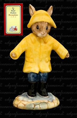 Royal Doulton Bunnykins Figurine Rainy Days
