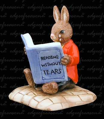 Royal Doulton Bunnykins Figurine William Reading Without Tears