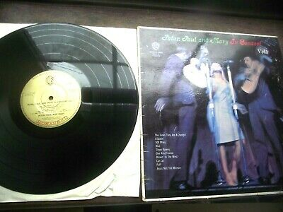 Peter Paul And Mary / In Concert Vol 1  12'' Vinyl Lp  W 15551 (Mono)