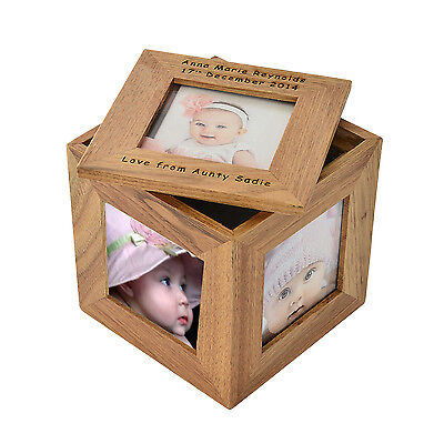 Cellini Gift Personalised Mother, Mum, Mom, Photo Cube Box #1