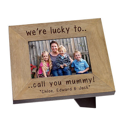 "Very special Mummy, engraved photo frame 6"" x 4"" Birthday Gift #1"