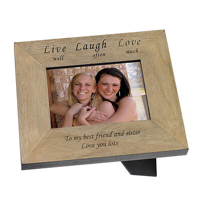Sister personalised Frame Best Friend Bridesmaid, Birthday Wedding #1