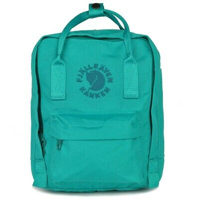 SALE EVENT Fjallraven Mini Re-Kanken Emerald