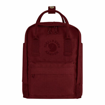 SALE EVENT Fjallraven Mini Re-Kanken Ox Red