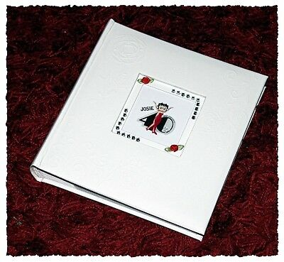 40th Photo Album White Leather personalised gift Present | Cellini Albums  #1