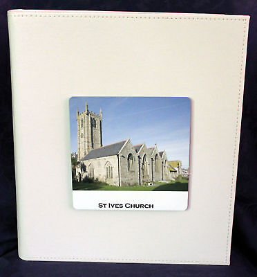 Wedding Photo Album Personalised Church Gift Memories | Cellini Albums #1