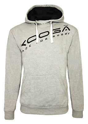 KOOGA THE RAVENHILL RUGBY PITCHSIDE//LEISURE HOODY 2-GREY