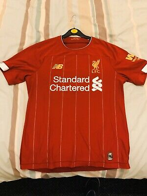 New Balance Official Mens Liverpool FC Home Football Shirt 2019/20 Size Small