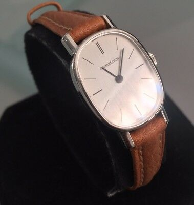 Rare Ladies Jaeger Lecoultre Dress Watch Ellipse Collectible Genuine Manual 1970