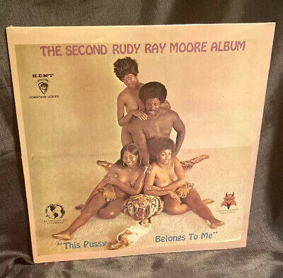Dolemite The Second Rudy Ray Moore Album LP  This Belongs To MeSealed Mint Adult