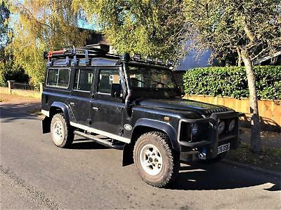 Land Rover Defender 110 2.5 TD5 LHD + LEFT HAND DRIVE + AIR CON + UK REG