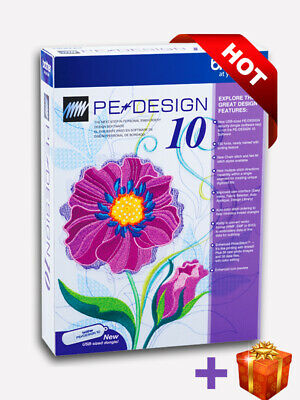 Brother PE Design 10 Embroidery Full Software & Free Gifts 2019 | INSTANT