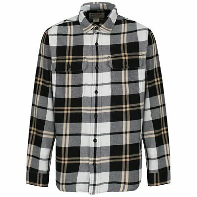 15% OFF! Filson Scout Shirt Black / White / Gold Plaid