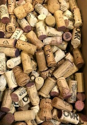 Corks - Lot of 400+ Mixed Used Wine Corks (No Synthetics)